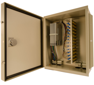 Century Fiber Optic Outside Plant cabinet by Century Fiber Optic