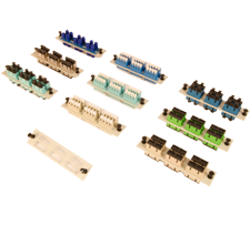 century fiber optic adapter  plactes for rack mount and wall mount enclosures