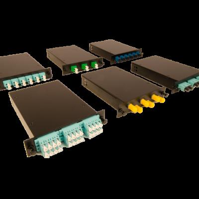 century fiber optic rack mount enclosure cassettes
