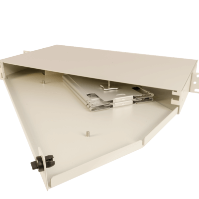 1U Rack mount enclosure FISR-12 Splice