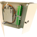 FCL-24 Splice and term wall mount cabinet