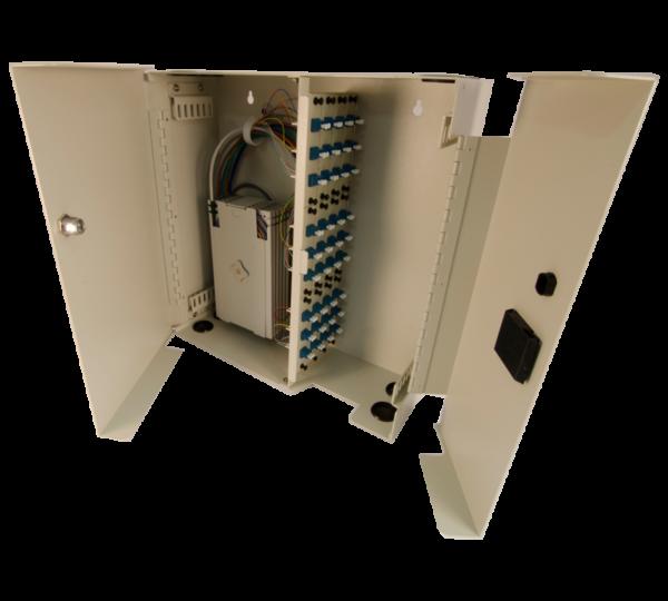 Century FIber Optic FCL-72 splice and term wall mount enclosure