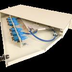 Century Fiber optic FISR splice and termination rack mount enclosure