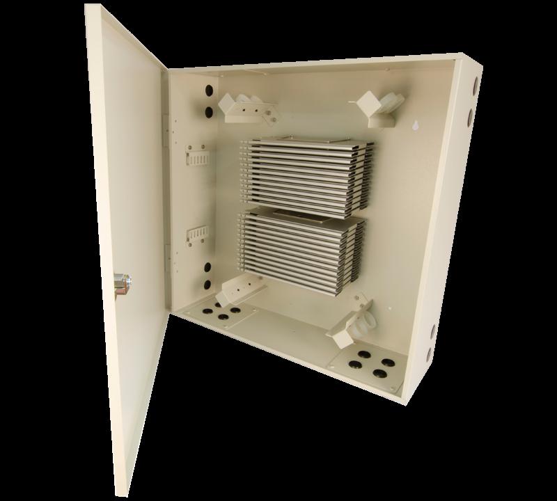 Century Fiber optic fso-288-splice wall mount enclosure