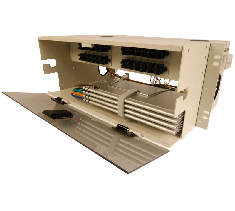 century fiber optic fts-700 4U rack mount enclosure