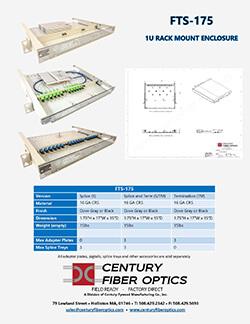Century Fiber Optics Rack Mount Enclosure